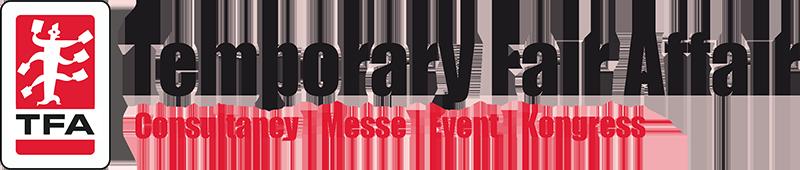 TFA –Temporary Fair Affair ist Full-Service-Anbieter für die Bereiche Messen, Events und Kongresse.